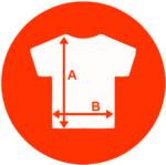 camiseta medidas