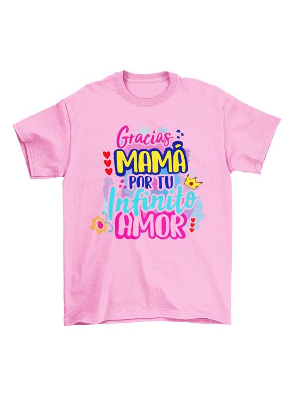 camiseta mama gracias por tu amor
