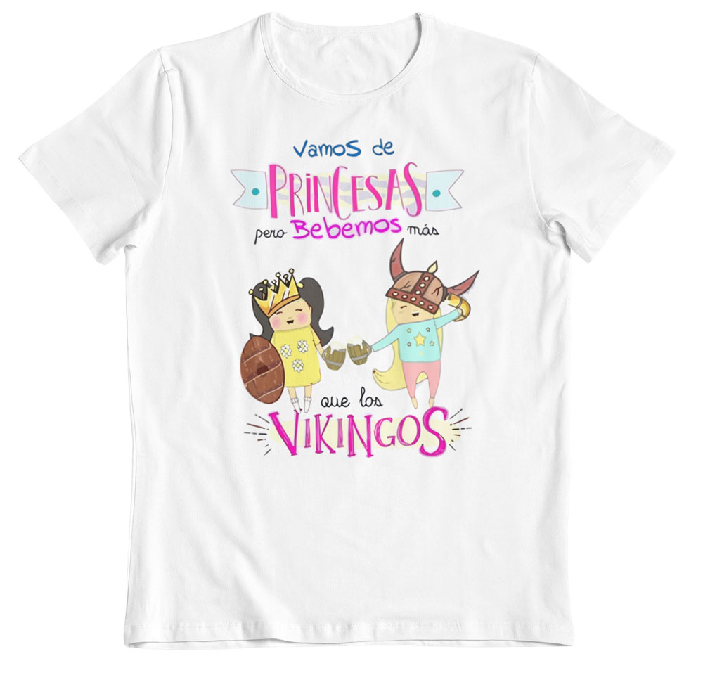 Camiseta bebemos más que viquingos