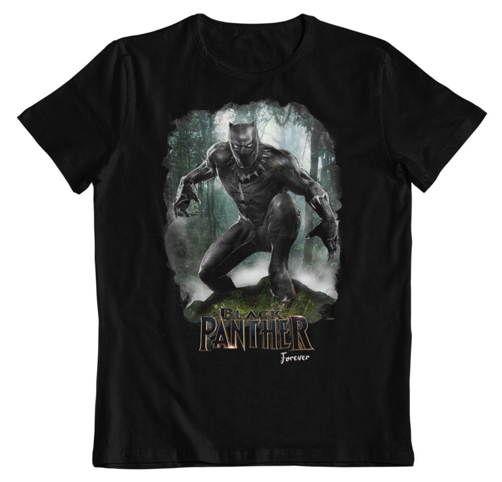 Camiseta Black Panther forever