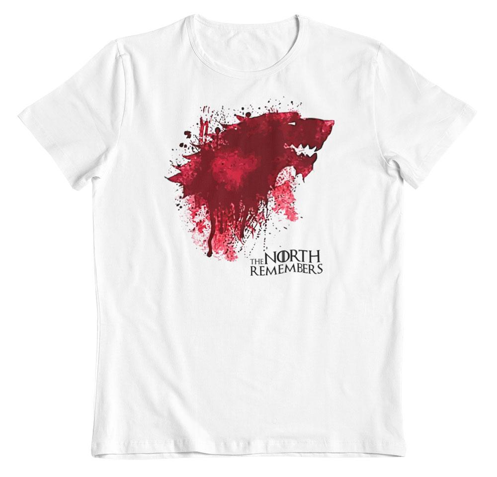 camiseta de juego de tronos blood