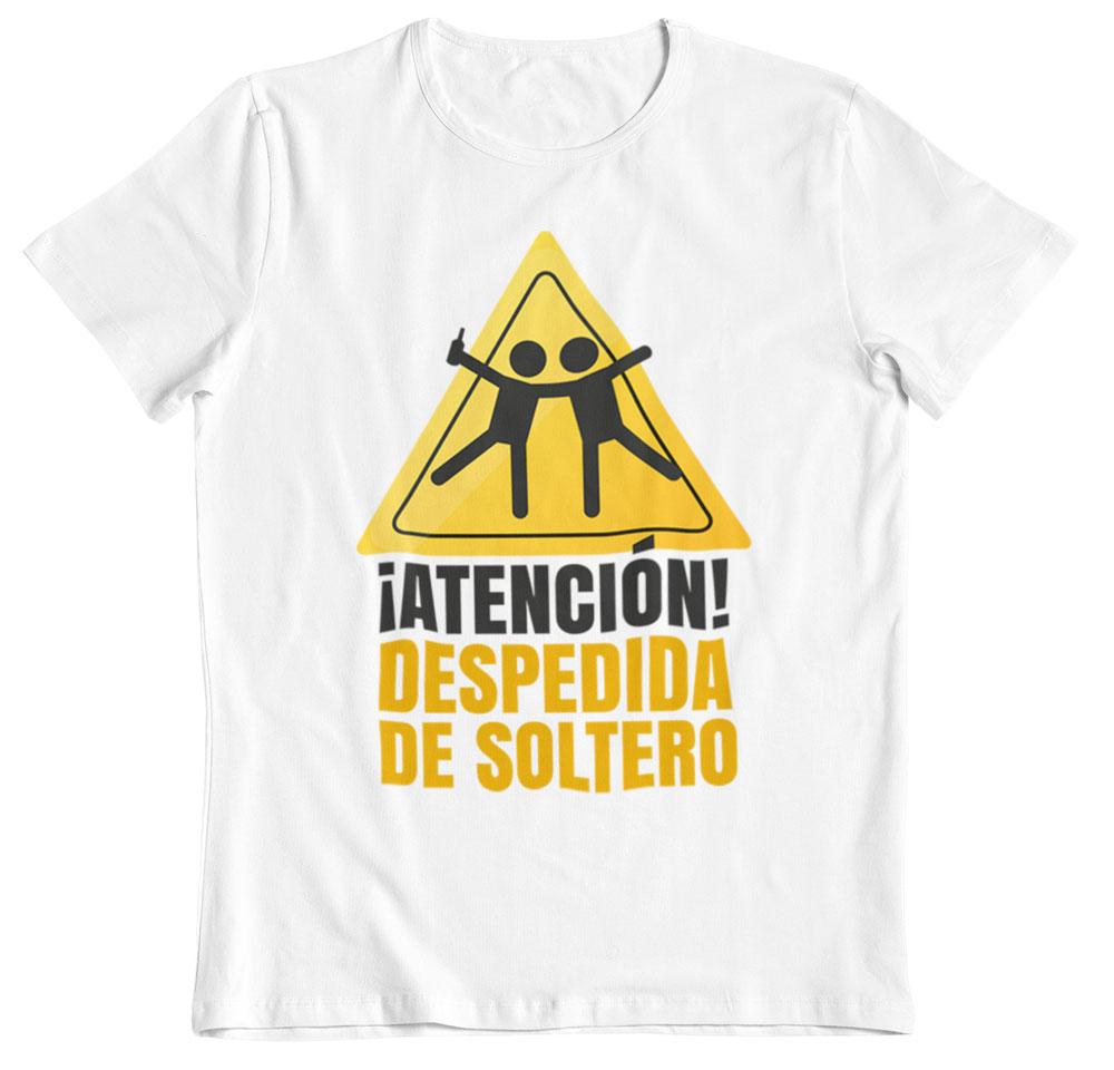 camiseta despedida de soltero ¡Atención!