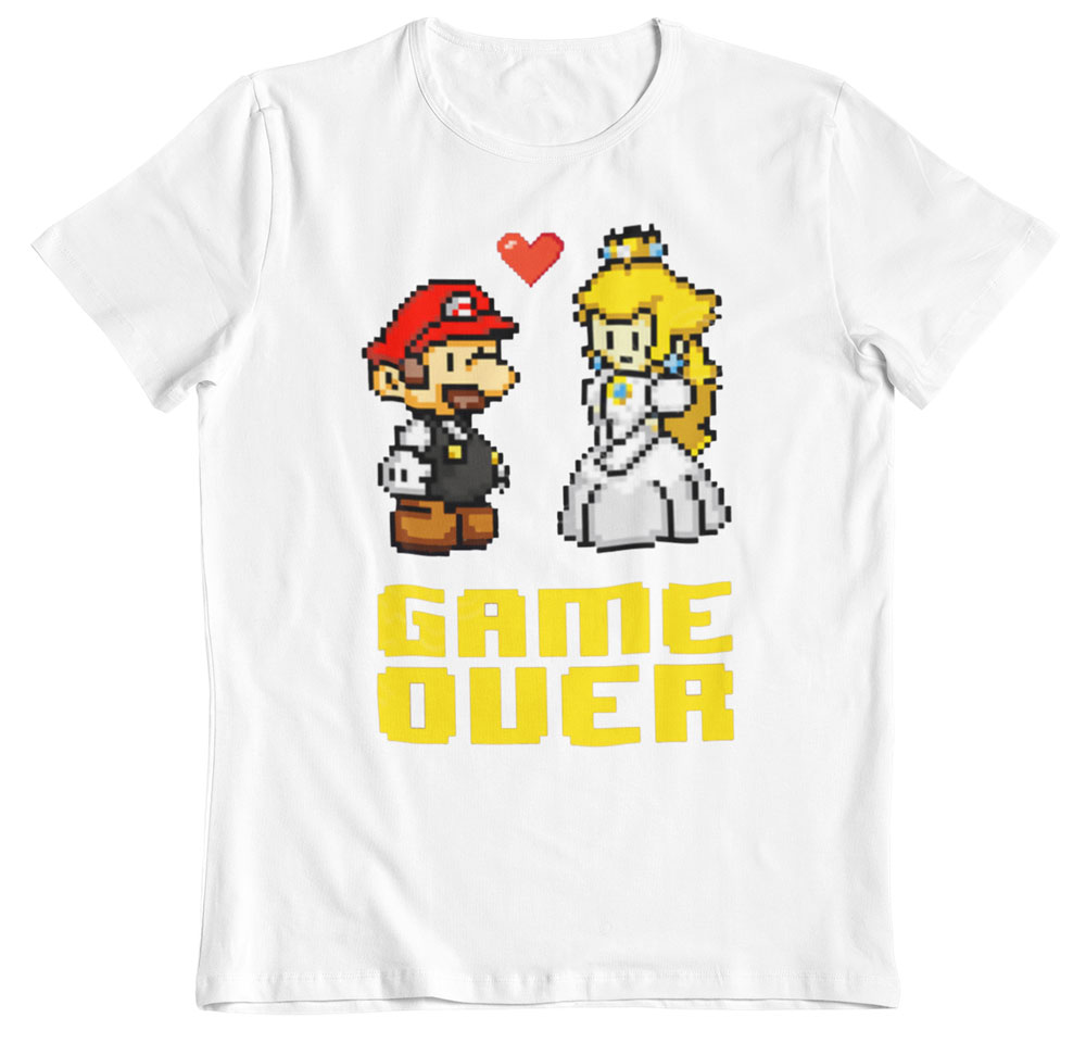 Camiseta despedida de soltero Game Over