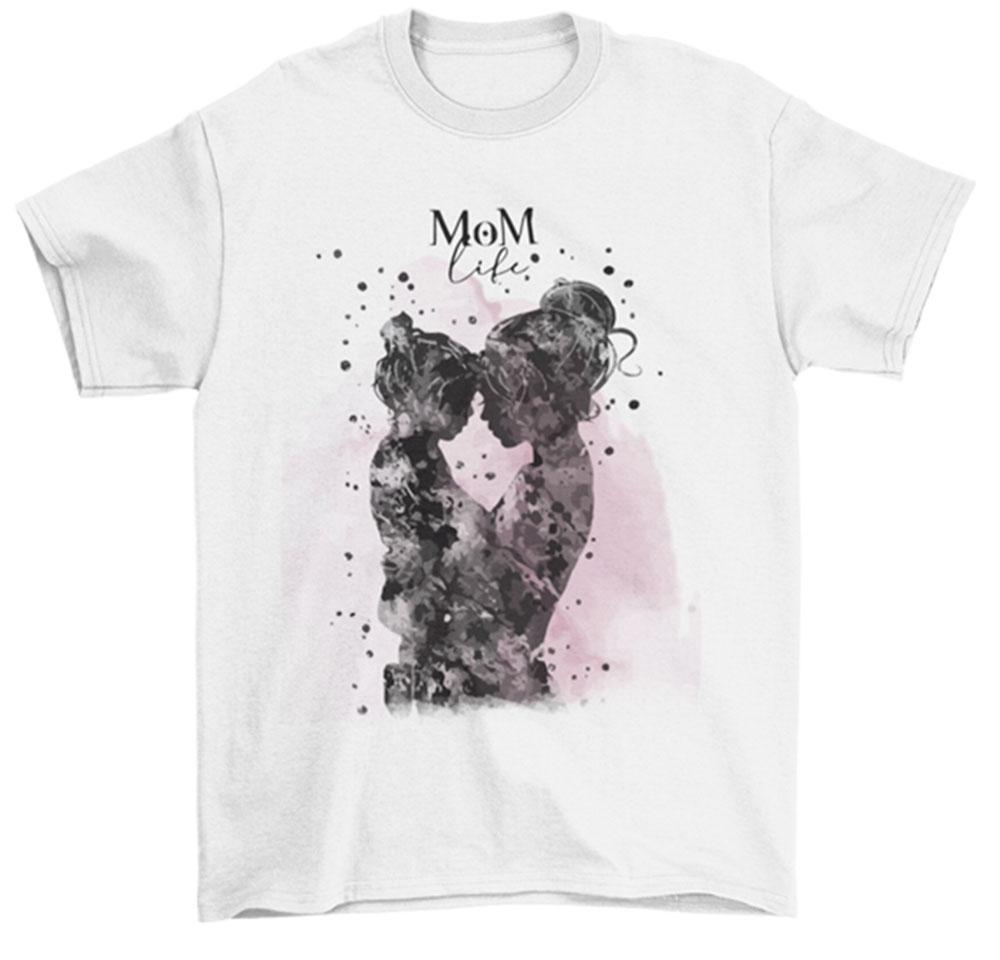 Camiseta día de la madre life mom