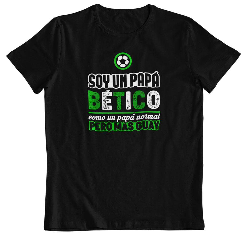 Camiseta día del padre bético negra