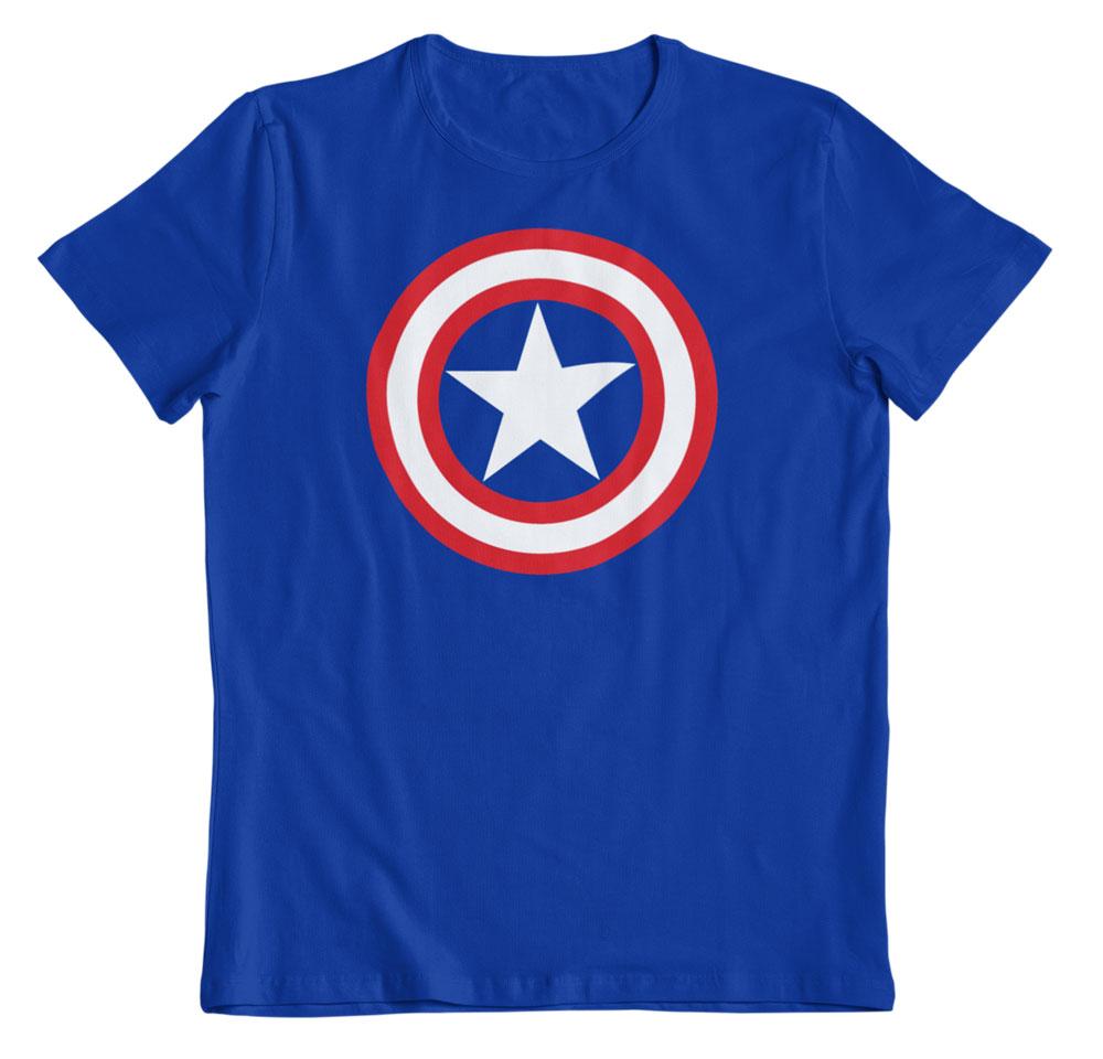 Camiseta escudo Capitán América