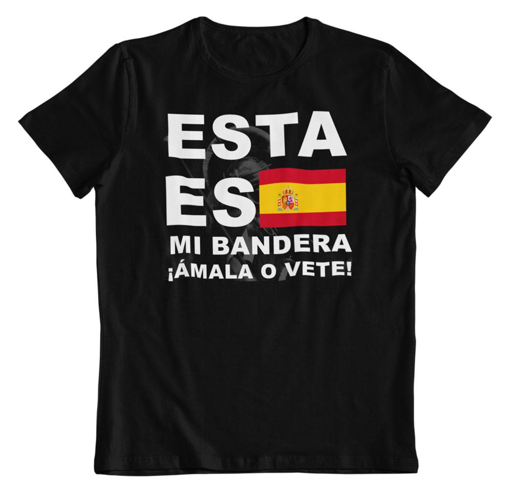 Camiseta Esta es mi bandera