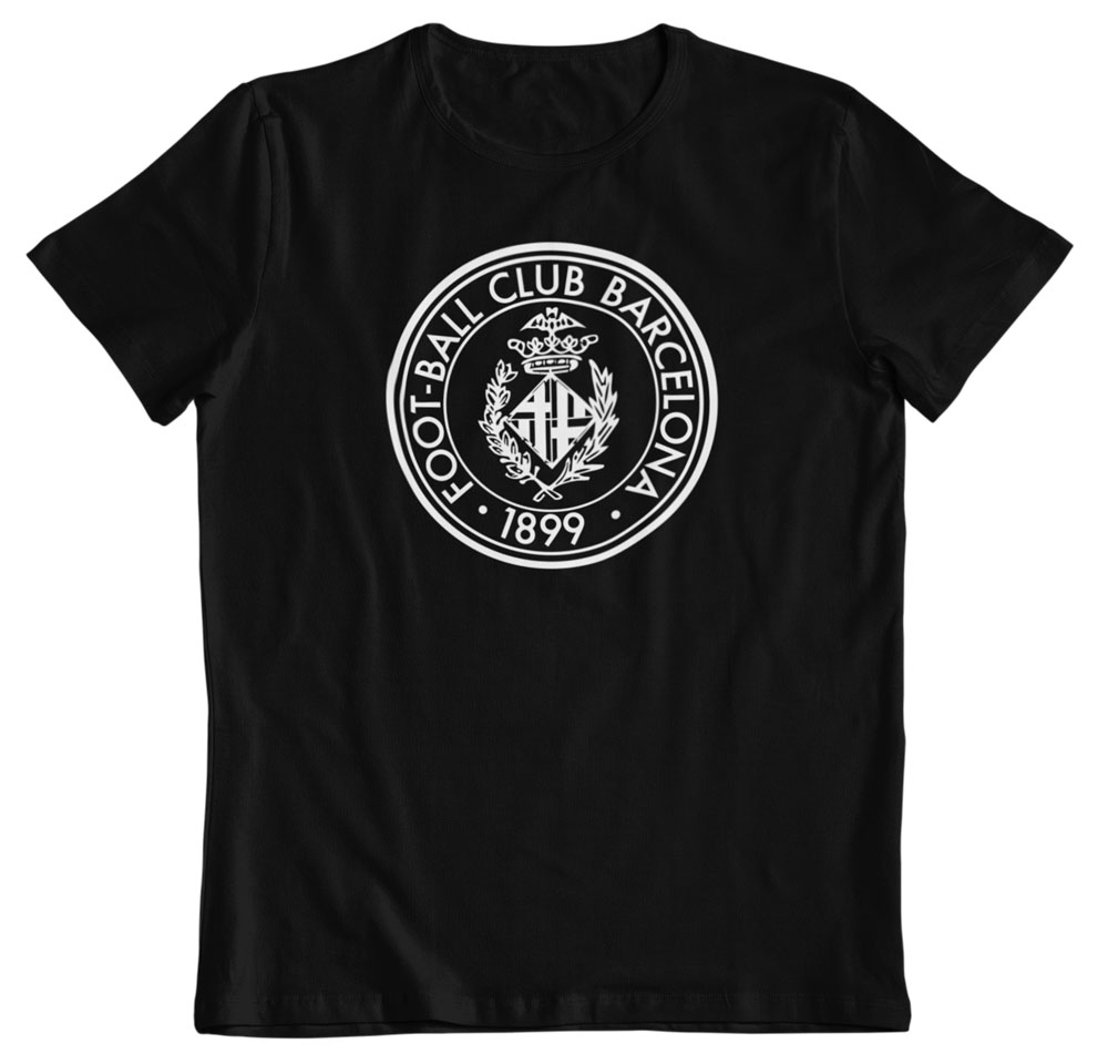 Camiseta F. C. Barcelona negra