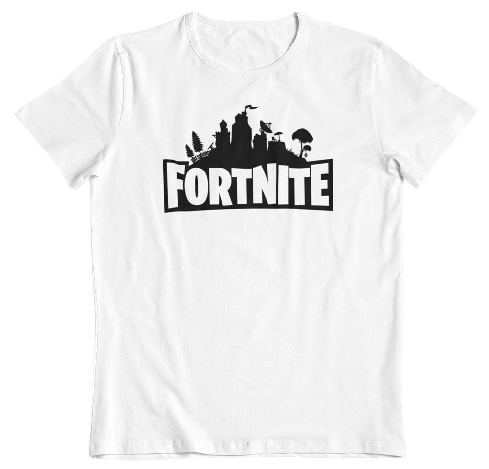 Camiseta Fortnite blanco