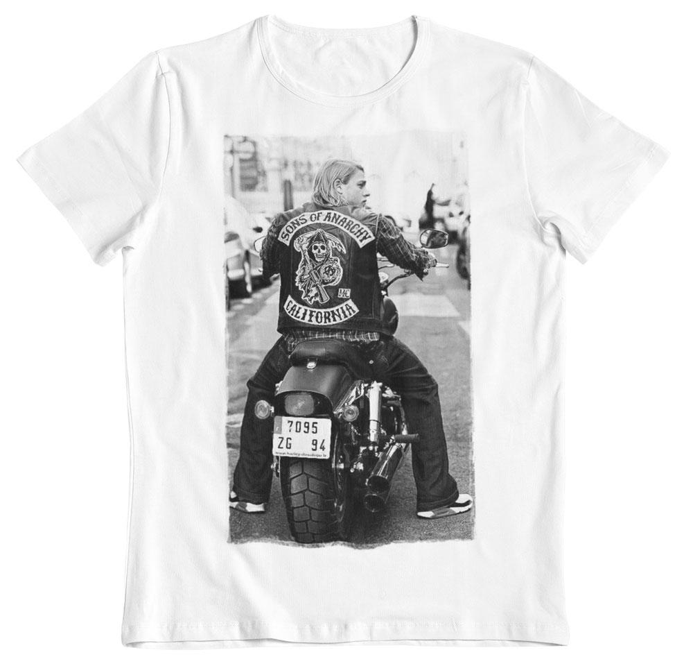 Camiseta hijos de la anarquía