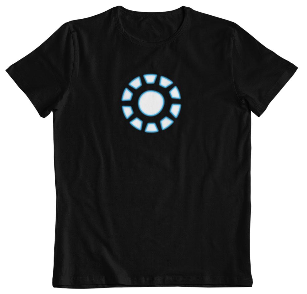 Camiseta Iron Man reactor