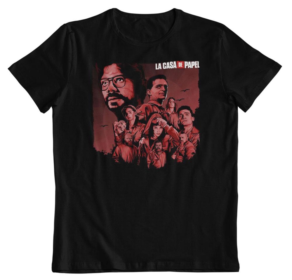 Camiseta La casa de papel la banda