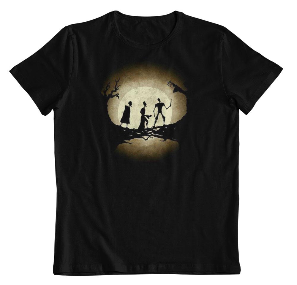 Camiseta Harry Potter la leyenda de las reliquias de la muerte
