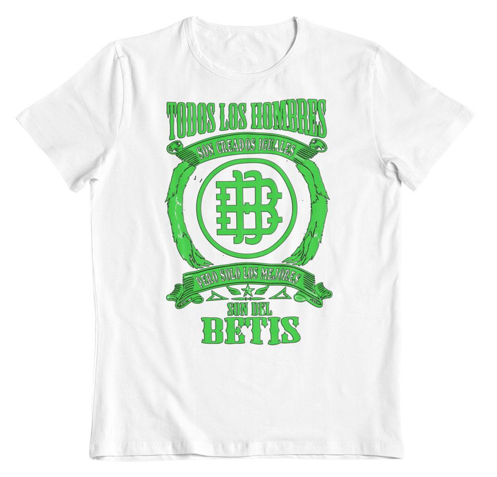 Camiseta los mejores son del Betis blanco