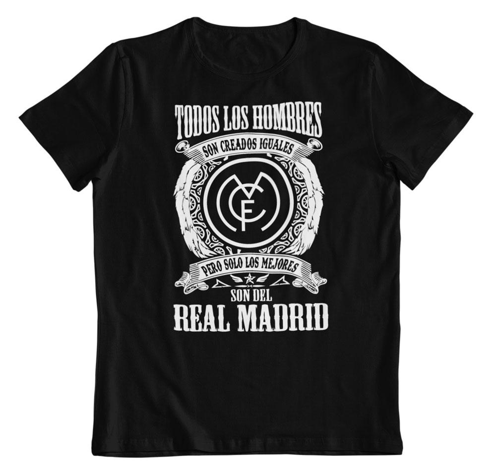 Camiseta los mejores son del Real Madrid