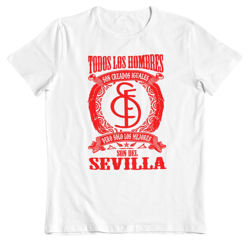 Camiseta los mejores son del Sevilla blanco