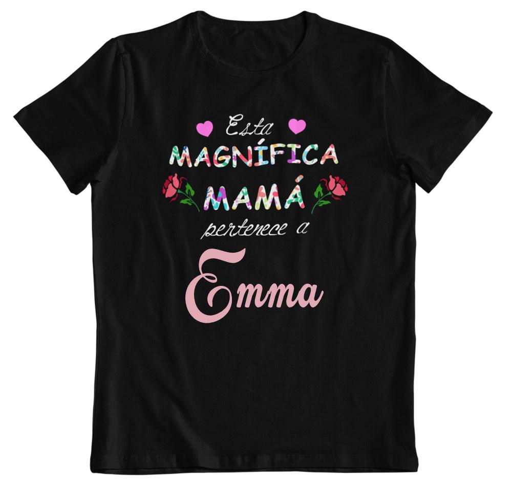 Camiseta magnífica mamá personalizable