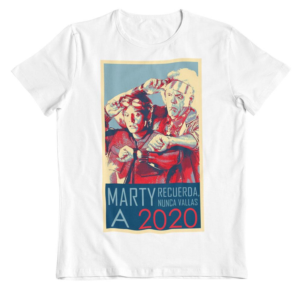 Camiseta Regreso al futuro Marty no!
