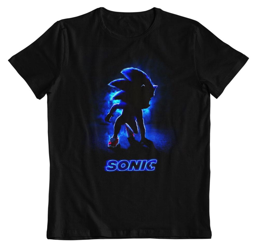 Camiseta Sonic la pelicula