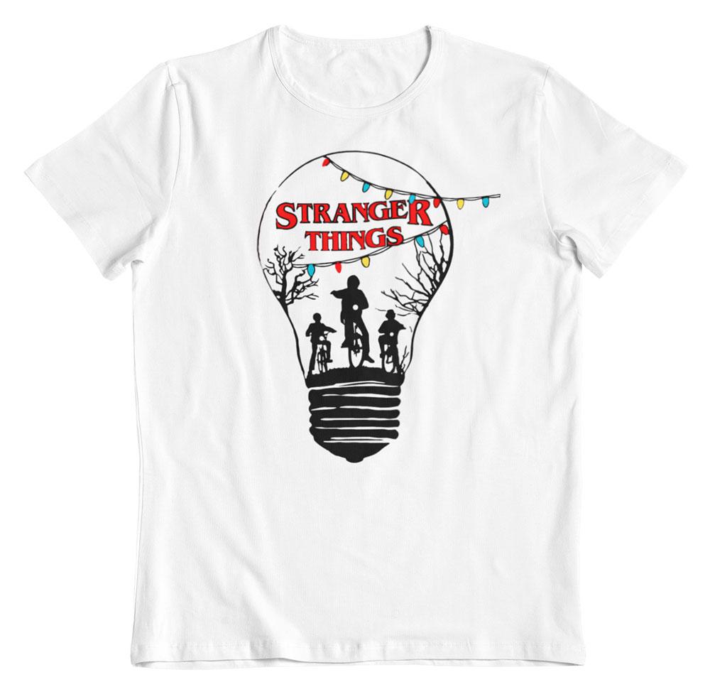 Camiseta Stranger Things bombilla