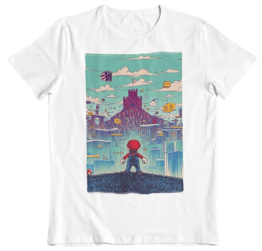 Camiseta Super Mario Bross al rescate