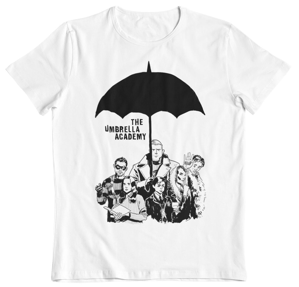 Camiseta The Umbrella Academy