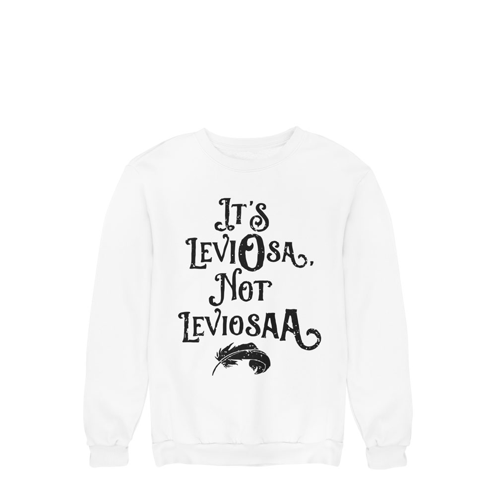 Sudadera It´s Leviosa not LeviosaA
