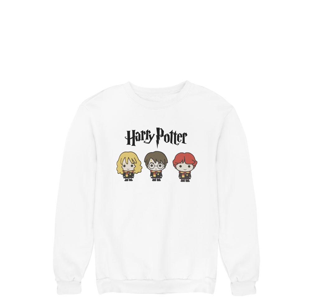 Sudadera protas Harry Potter blanco