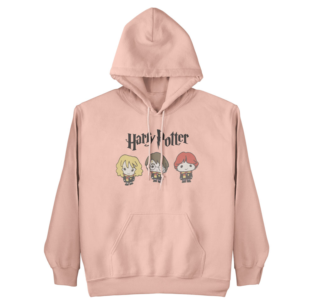Sudadera protas Harry Potter salmón