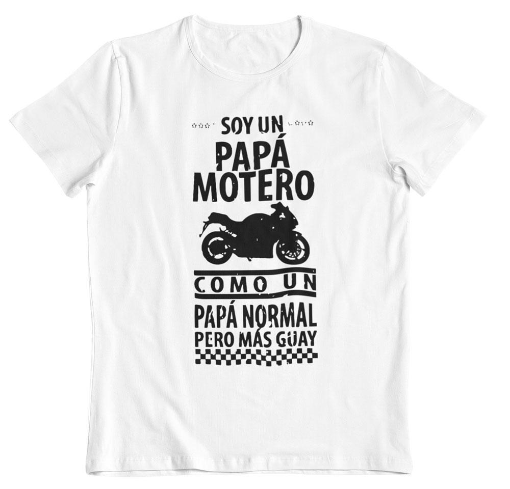 Camiseta día del padre personalizada blanca
