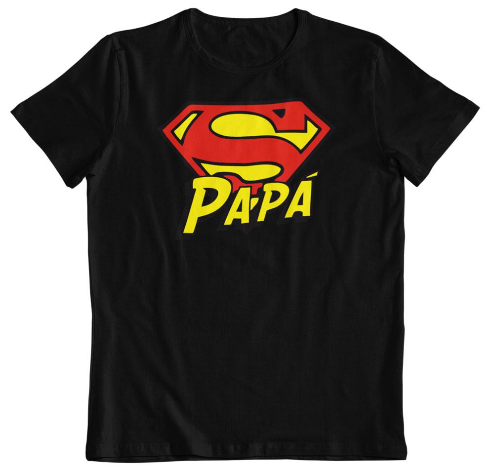 camiseta día del padre superhéroe