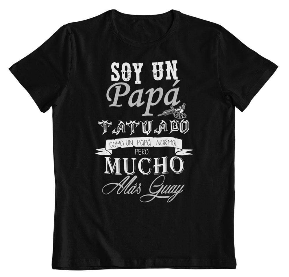 camiseta papa tatuado día del padre