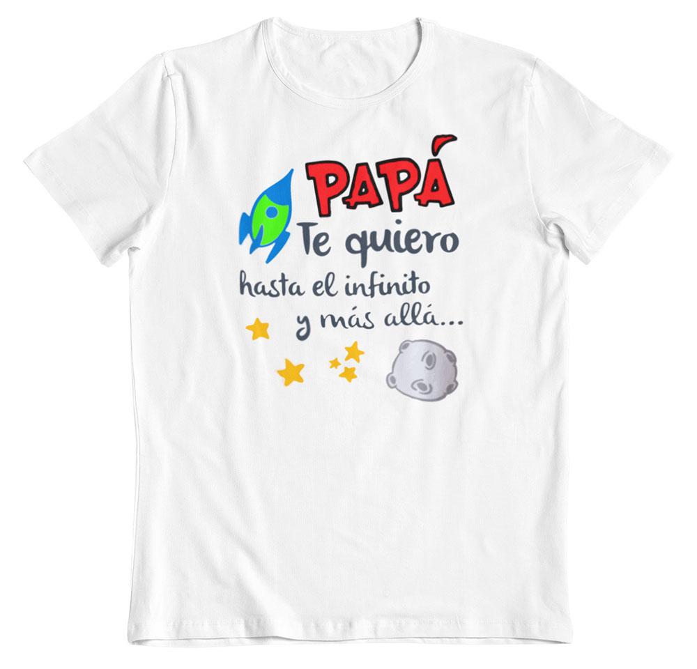 Camisetas regalo día del padre blanco