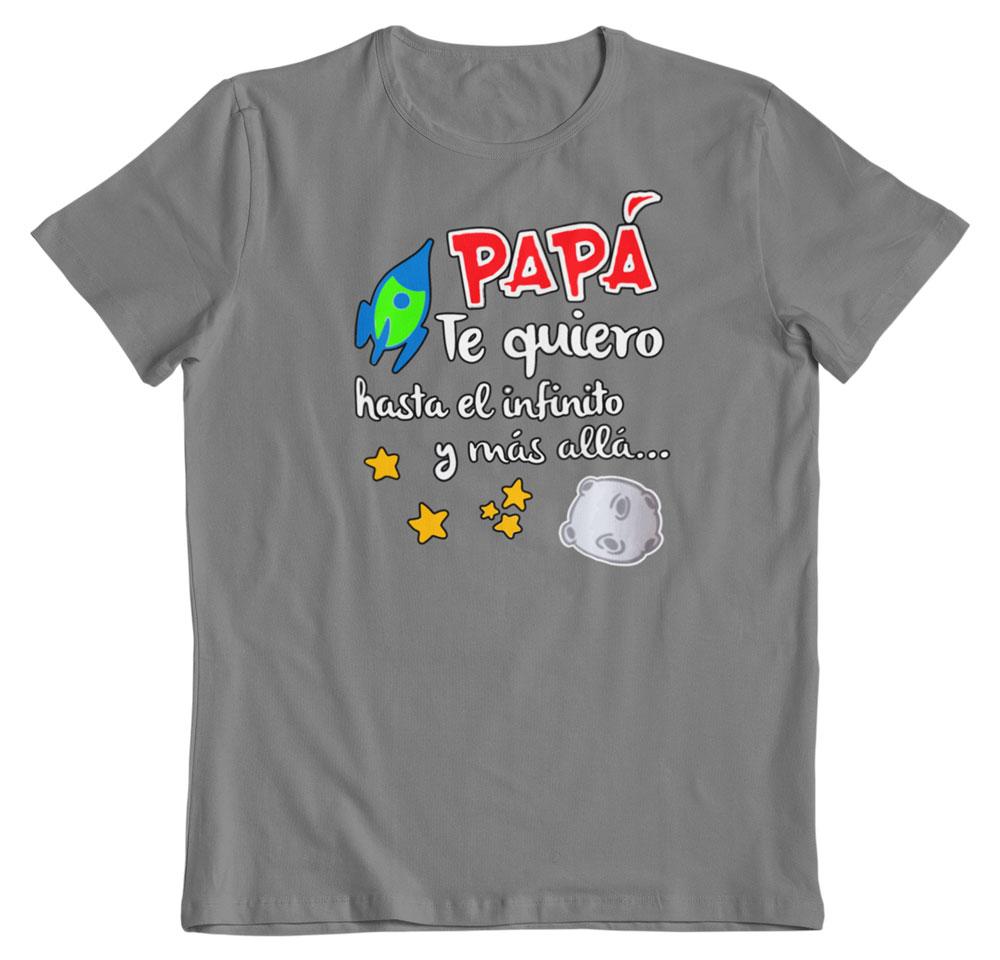 Camisetas regalo día del padre gris