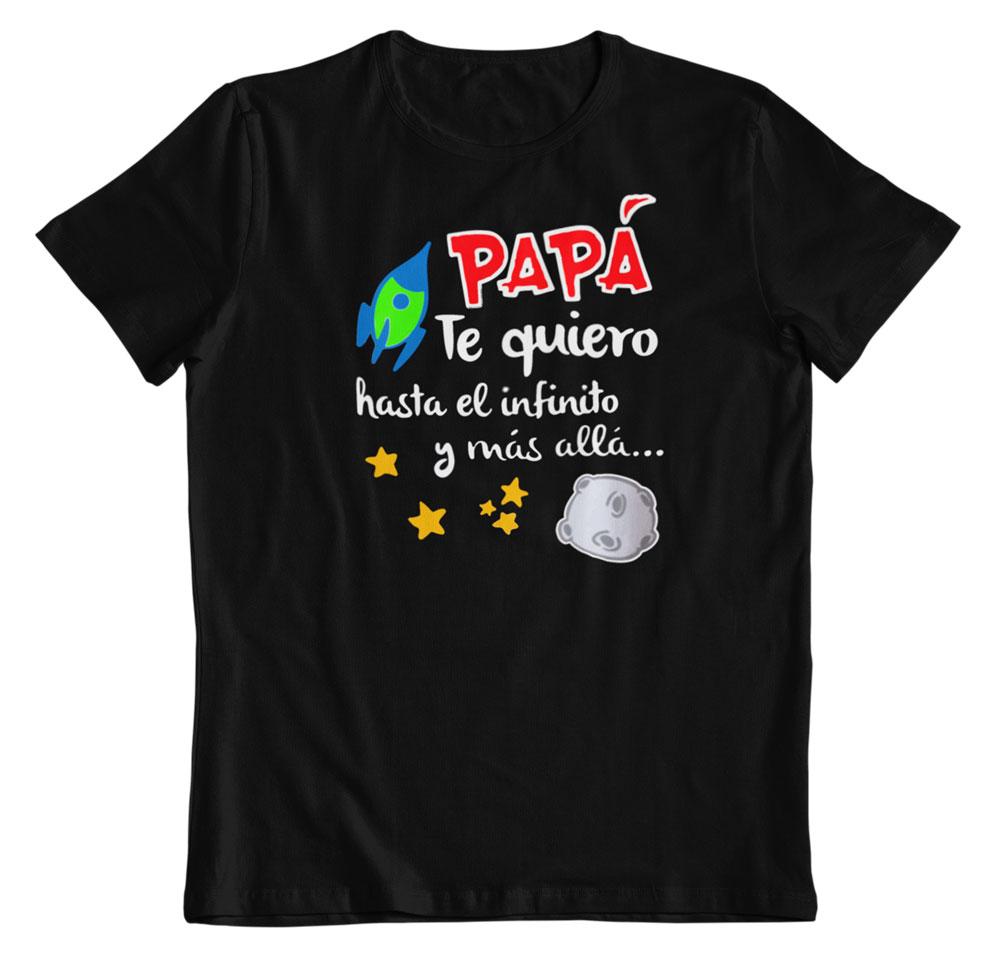 Camisetas regalo día del padre negro